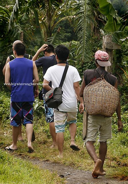 Hiking to Kabigan Falls Pagudpud Ilocos Norte