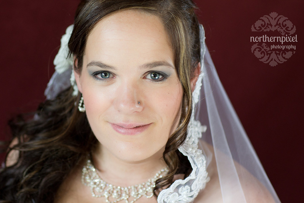 Bridal Session in Prince George BC Blue Eyes