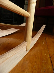 rocking chair detail