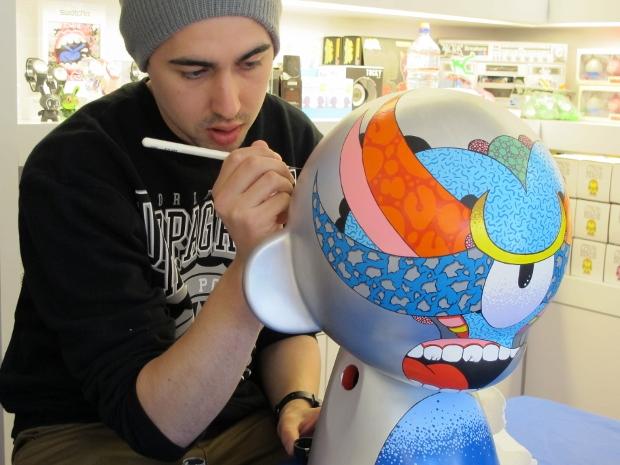 Kidrobot San Francisco Instore