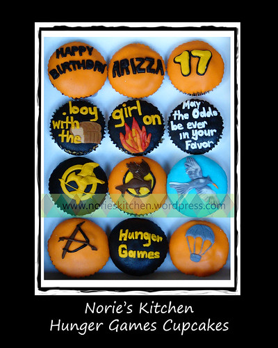 Norie's Kitchen - Hunger Games Cupcakes by Norie's Kitchen