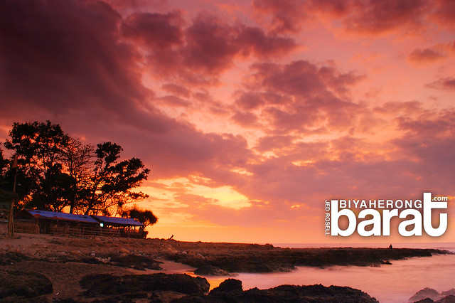 Sunset in San Juan La Union Philippines