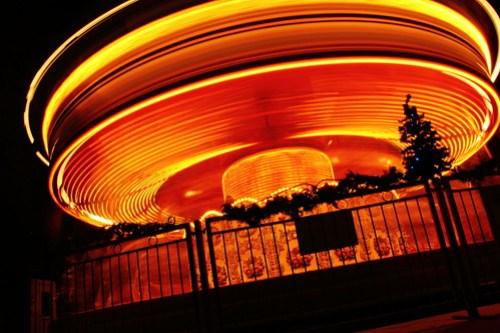Rainy Merry-go-round