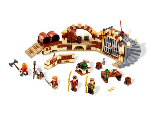 LEGO The Hobbit 79004 Barrel Escape