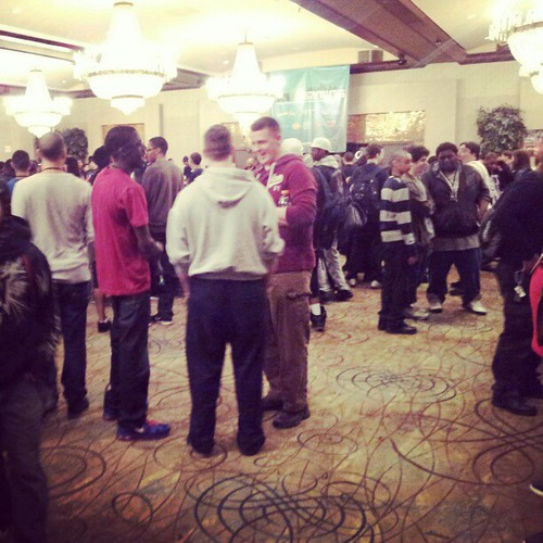 Turnouts looking good at #NEC13.