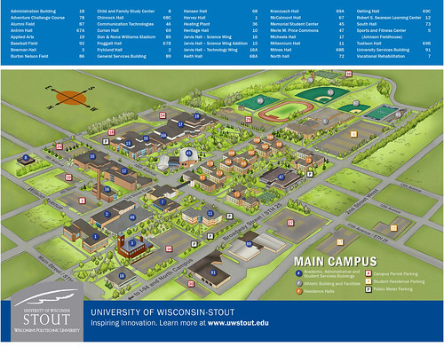 UW Stout Campus Map Critique | joslinbrgeog