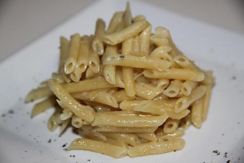 Macaroni au gorgonzola
