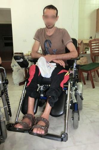 Paraplegic Husayn Abdullateef Needs Support by aymanfadel
