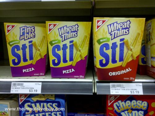 Wheat Thins Stix Pizza