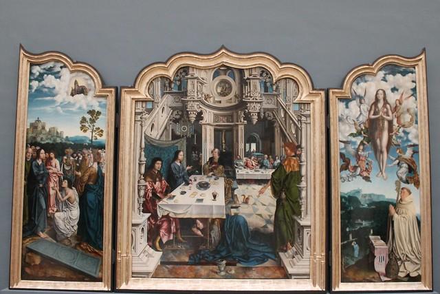 Tryptique de l'abbaye de Dielegem