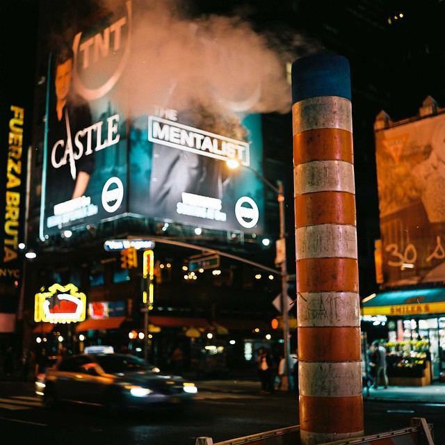 Times Square -- Rolleiflex 2.8e