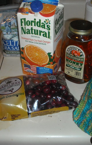 cranberry ingredients