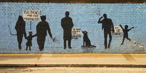 Graffiti, Shoreditch, East London, England.