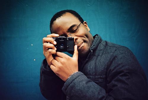 Adewale shooting me