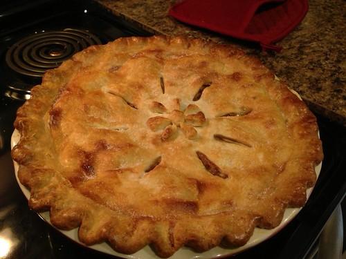 Äppelpaj till Thanksgiving