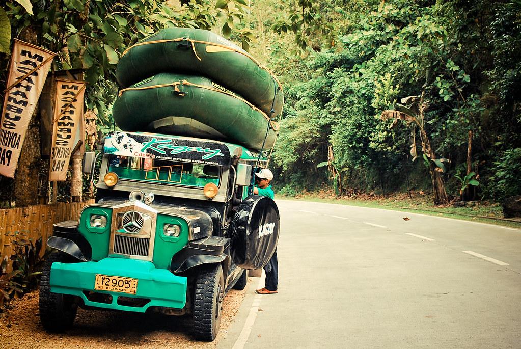 Cagayan de Oro, CDO, Whitewater Rafting, Jeep