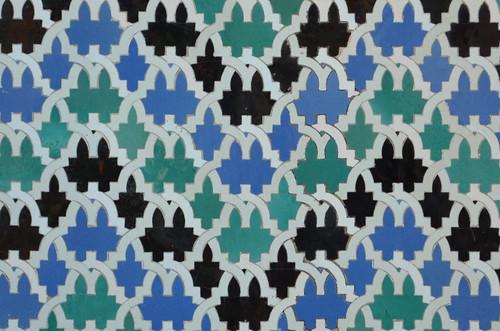 Pattern in Alcazar