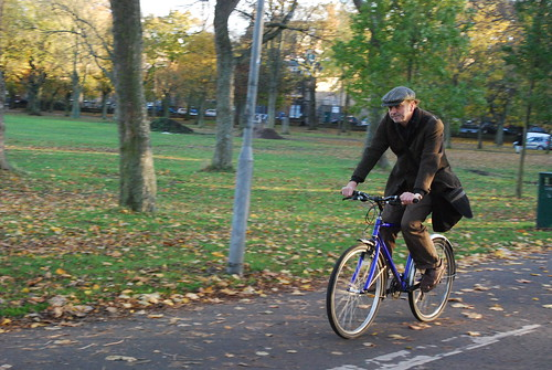 Tweed cap and jacket
