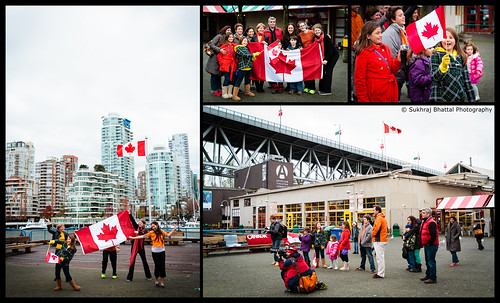 Day 688 - Worldwide Flashmob: Dance for Kindness at Granville Island and a Van Smugmug Seminar by SukhrajB