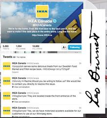 Why are @IKEACanada and Leo Burnett silent in global trending Twitter #ikeamonkey?