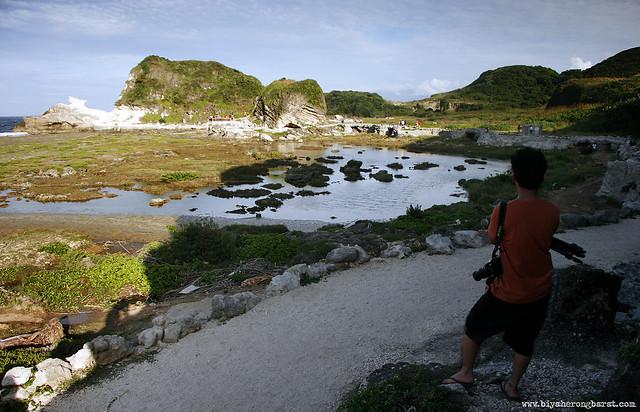 easy trail to Kapurpurawan Rock Formations Burgos Ilocos Norte