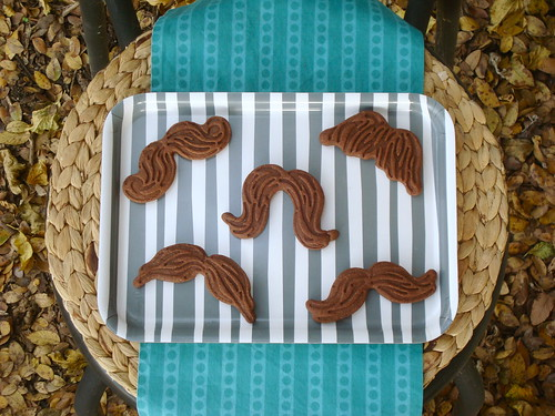 Chocolate 'Stache Cookies