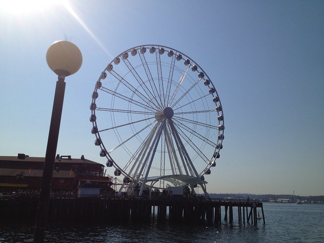 Seattle Great Wheel, Pier 57