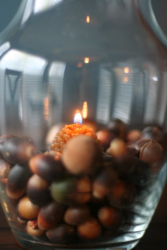 Acorn Candle Holders