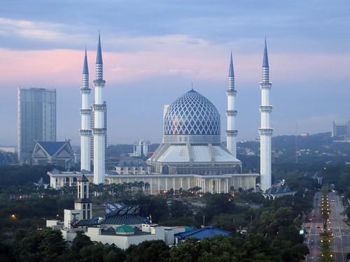 Blue Mosque, first dawn by webmink