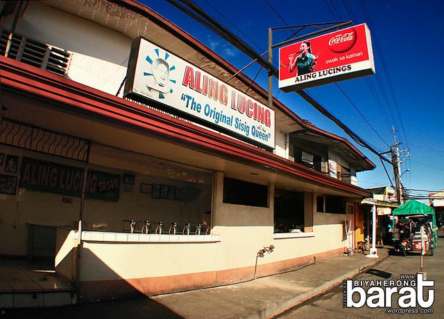 Aling Lucing's Sisig Angeles Pampanga
