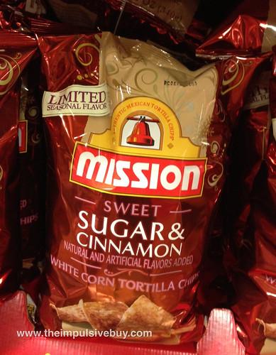 Sugar and Cinnamon Mission Tortilla Chips