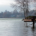 Suburban Minnesota lake