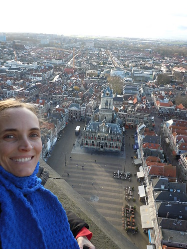 Up in the tower of the Nieuwe Church