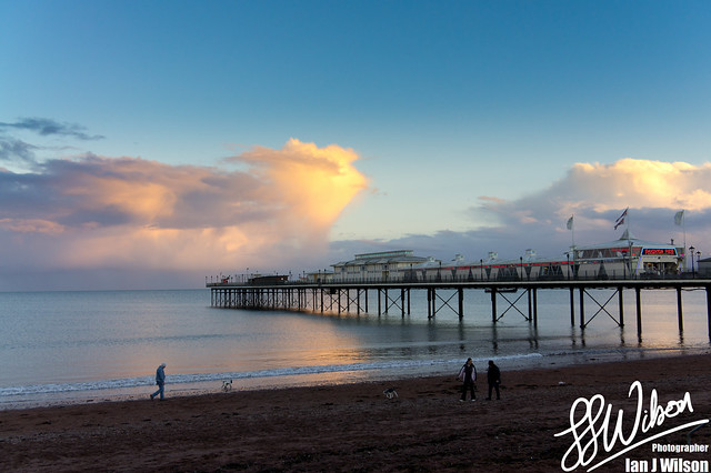 Paignton Pier Sunset – Daily Photo (21st December 2012)