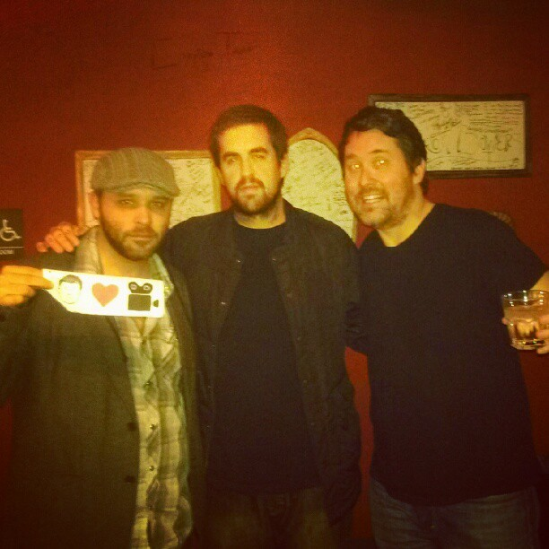 @redban @dougbenson and I at American Comedy club SD
