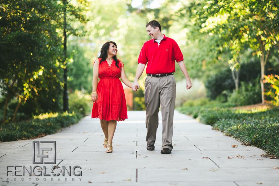 Rosanna & Doug's Engagement Session | University of Georgia | Atlanta Athens Cambodian Wedding Photographer