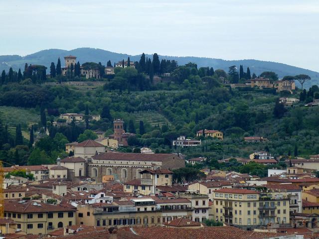 Florence - jour 2 - 036 - Vue du Campanile de Giotto
