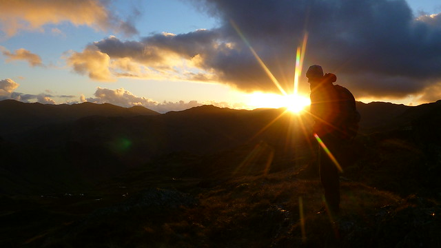 Sunset, Coniston Fells