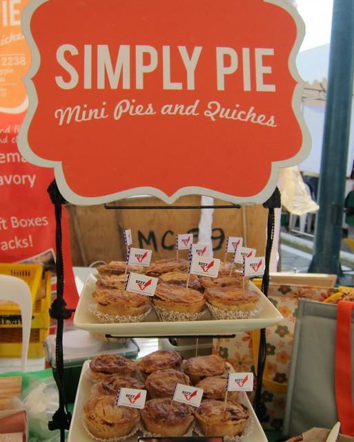 Simply pie pies and quiches @ Morning Mercato