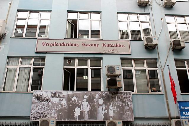 Ataturk building