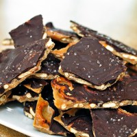 Salted Caramel Pretzel Bark {Christmas Tray 2012}