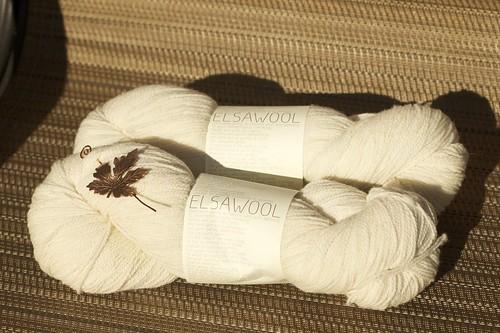 Elsawool woolen spun fingering