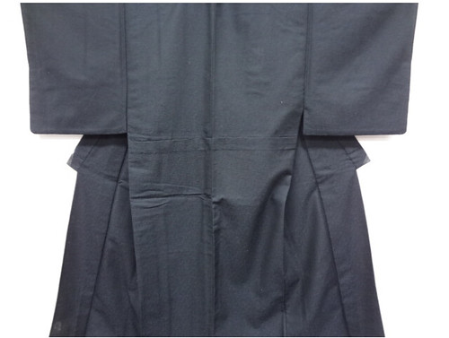Black and Blue Men's Kimono