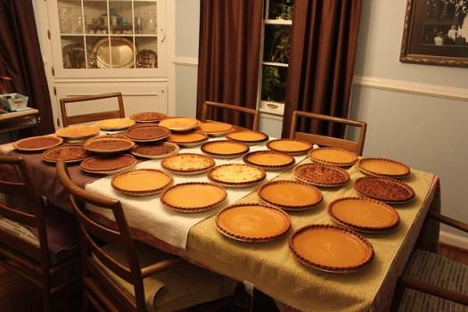 2012 Thanksgiving Pies