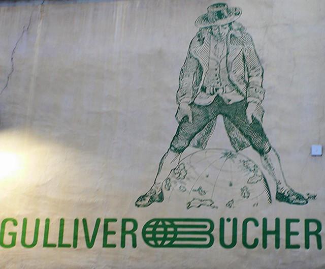 Bookshop sign, Solothurn