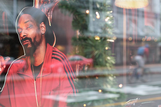 Monday: cannot work out why Snoop Lion is there