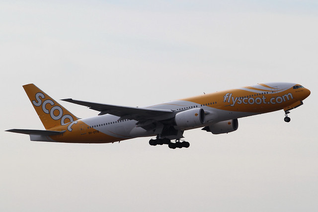 Scoot B777-200ER(9V-OTB)