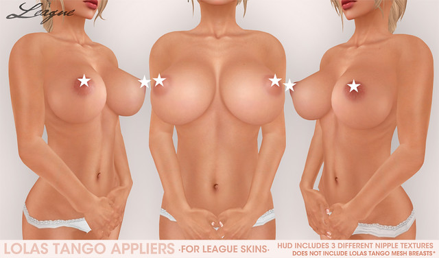 League Lolas Tango Appliers