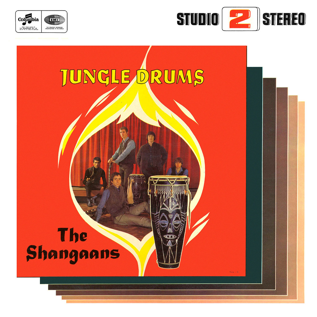 The Shangaans - Jungle Drums