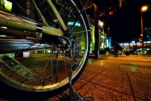 Day 356/366 : Bike in the City by hidesax